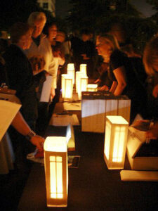 Luminaria Sales Table