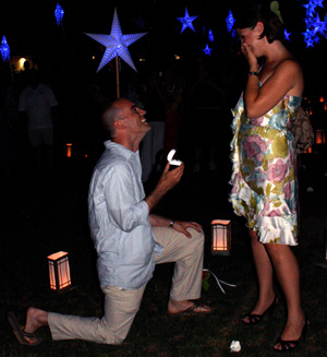 Proposal at Starry, Starry Night