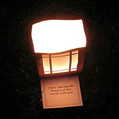 Luminaria Dedication