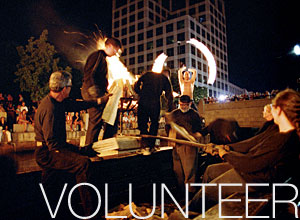 Volunteer at WaterFire