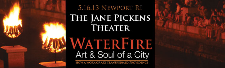 Newport Premiere of WaterFire: Art &amp; Soul of a City