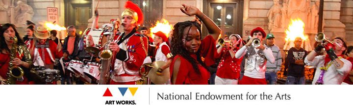 We received a National Endowment for the Arts grant!