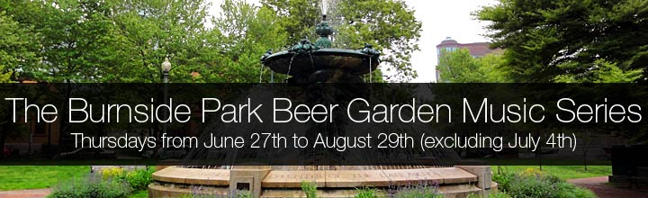 The Burnside Park Beer Garden Music Series