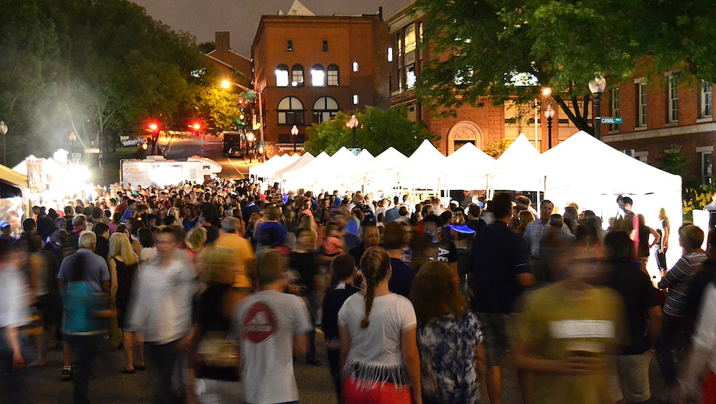 Arts Festival Plaza. Photo by John Simonetti.