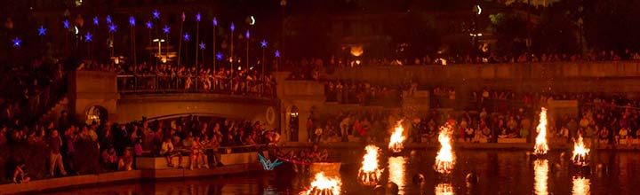 WaterFire Providence was honored with an Ambassador Award from the PWCVB
