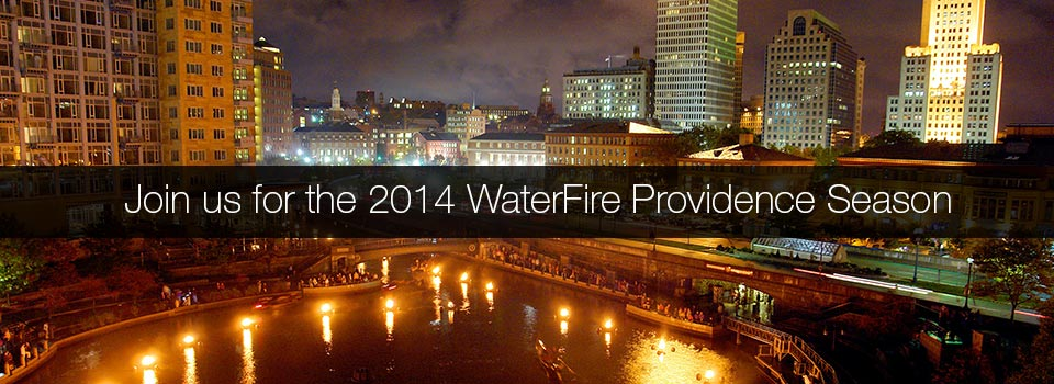 Join us for the 2014 WaterFire Event Season. Photo by Thomas Payne.