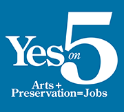 Vote Yes on 5. Support Arts + Preservation in Rhode Island