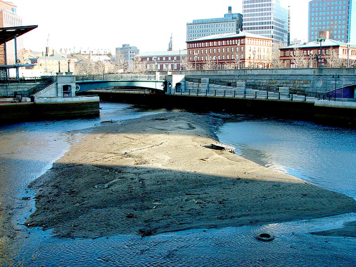 Waterplace Basin during low tide