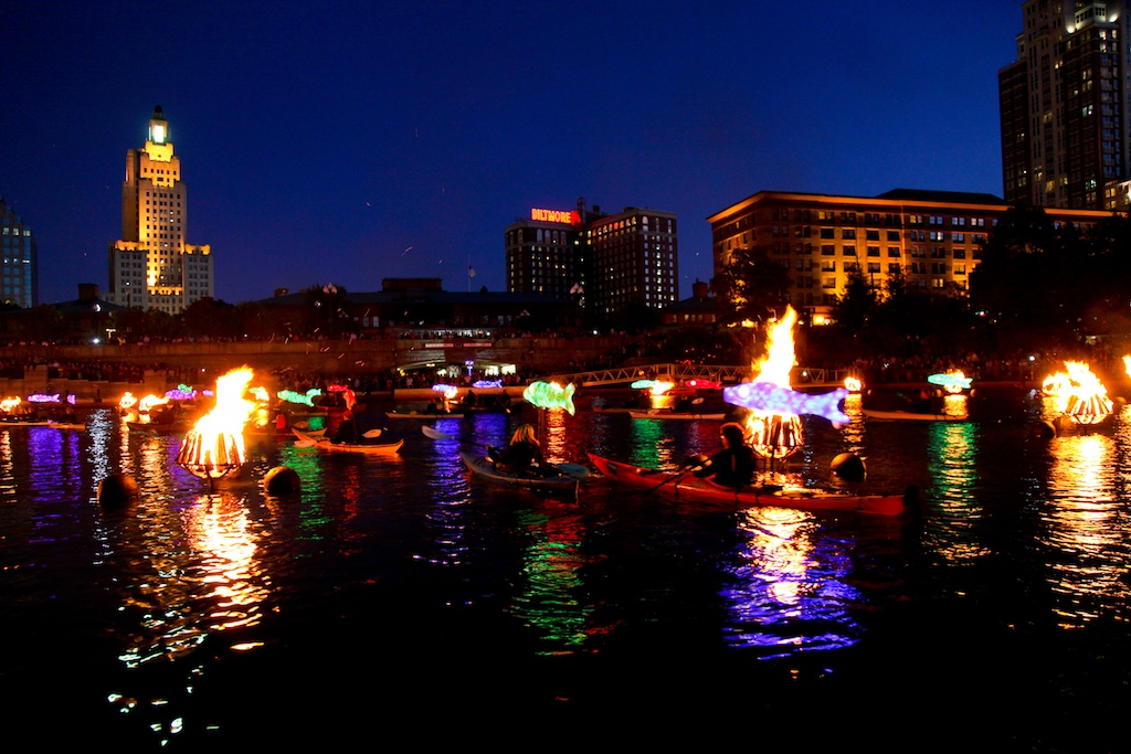 WaterFire Clear Currents 2012. Photo by Erin X. Smithers.