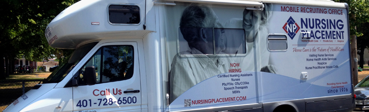 The Nursing Placement Mobile First Aid Station