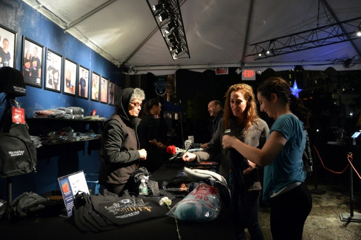 The Merchandise Tent on Canal Street, photo by Jennifer Bedford.