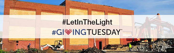 #LetInTheLight #GivingTuesday 2015