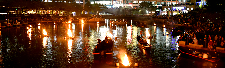 Using light of WaterFire to symbolize wisdom, justice