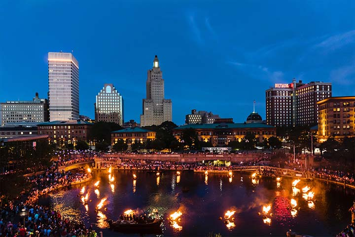 2018 Waterfire Providence Event Schedule Photograph By Matthew Huang