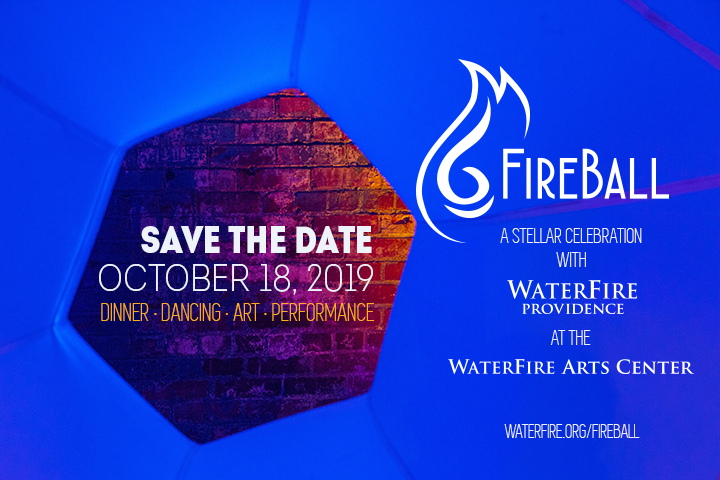 Save the date for FireBall - October 18, 2019