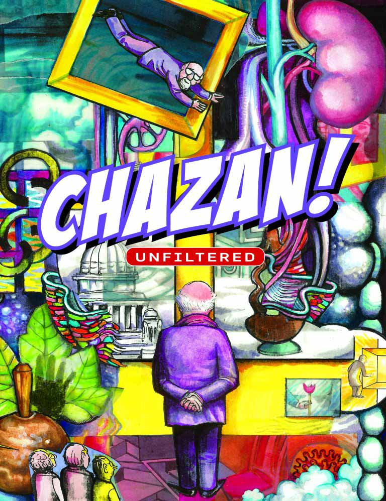 Chazan! Unfiltered (Cover)